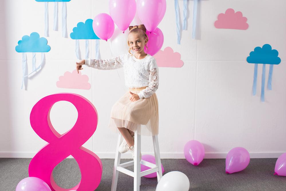 יום הולדת בנות גיל 8