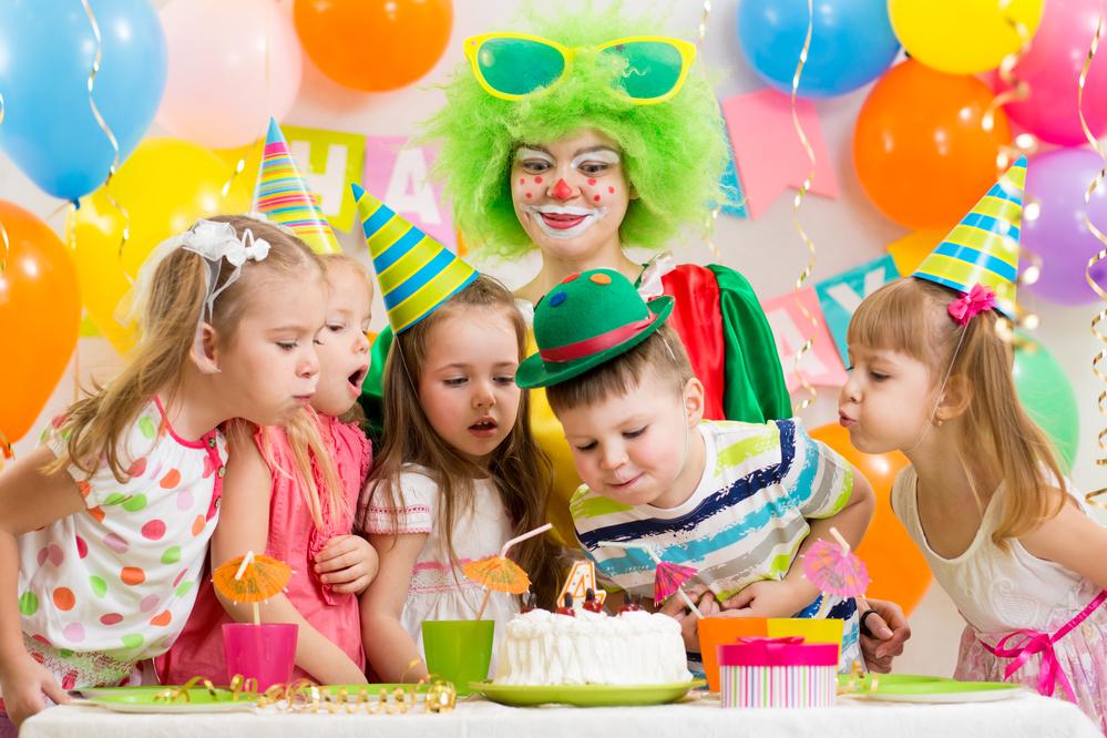 יום הולדת עם ליצן למי שחוגג גיל 8